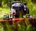 Moderní sečení vysoké trávy