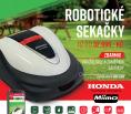 Robotické sekačky Honda Miimo