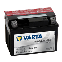Motobaterie VARTA 12V 3Ah 40A AGM YT4L-BS